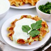 Несладкие вафли в вафельнице: 3 рецепта. Вместо оладий