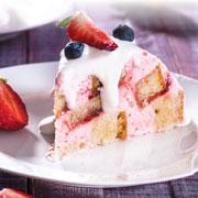 Рецепты мороженого: торт и домашнее мороженое с персиками