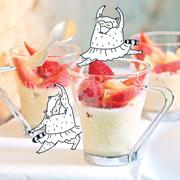 Лето, ягоды и полезный завтрак: 2 рецепта для самостоятельных детей