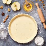 Пирог-затируха – с клубникой, вишней и любой начинкой, рецепт