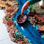 Лиза Арье: Как играть с кинетическим песком: развивающая игра 'Древний Египет'