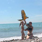 Отдых летом – на море и в деревне. Чем заняться с ребенком в Сочи и в Тамбове
