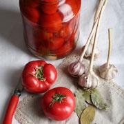 Маринованные помидоры на зиму и томатная паста: рецепты