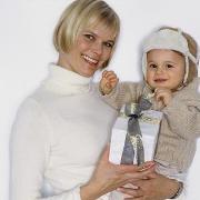 Как провести Новый год с ребенком до года?