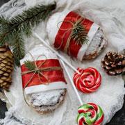 Рождественский штоллен: 2 рецепта творожного штоллена
