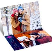 Идеи подарков на Новый год: как сделать календарь с фото