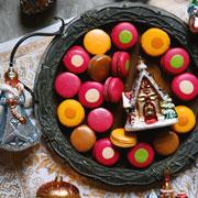 Домашние макаронс и еще 2 рецепта для новогодних подарков