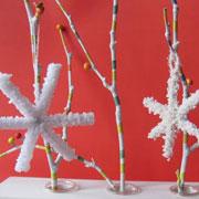 Как вырастить кристаллы из соли и сделать елочную игрушку своими руками