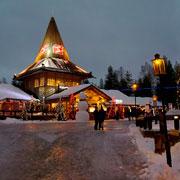 Как увидеть Деда Мороза? На Новый год – в Рованиеми, к Санта-Клаусу