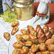 Как приготовить блины на молоке и кефире и пирожки с 5 начинками