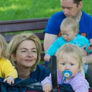 Мама тройни – о многоплодной беременности, режиме и детском сне