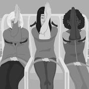 Тем, кто часто летает: 3 упражнения из йоги в самолете и аэропорту