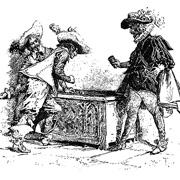 Игра в кости на лошадей, седла и алмаз: правдиво ли описал ее Дюма