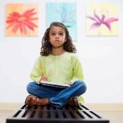 Искусно об искусстве: ребенок в музее