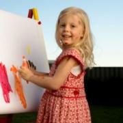 Как заниматься с ребенком живописью?