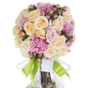 Вместо букета на 1 сентября - топиарий из живых цветов своими руками