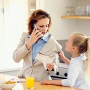 Один день из жизни работающей мамы