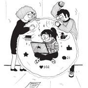Ребенок сидит в интернете и ничего не рассказывает