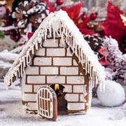 Новогодний пряничный домик - своими руками за два дня