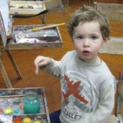 Искусство — детям. Лучшие арт-студии для малышей