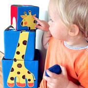 Татьяна Макурова: Мягкие кубики для малышей своими руками: мастер-класс