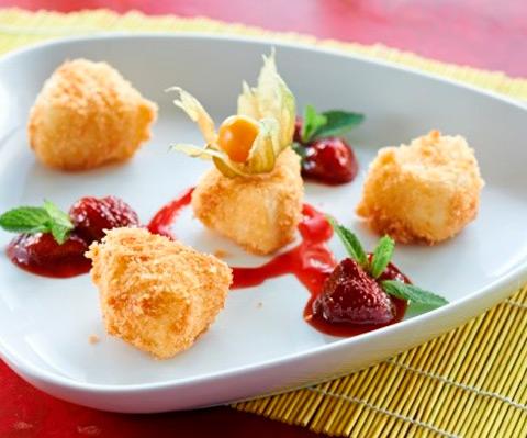 Рецепты к новогоднему столу: фрикасе из кролика и жареный сыр