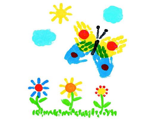 Идеи для детских рисунков красками