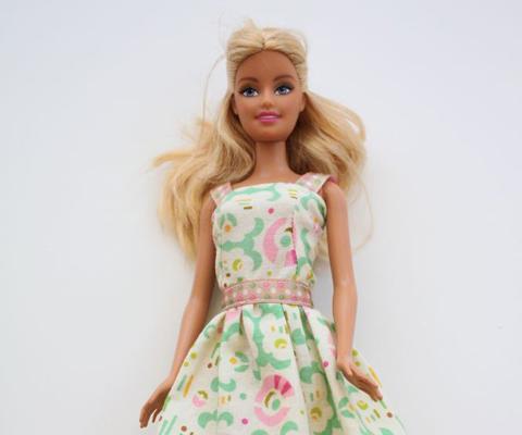 171 Одежда для кукол своими руками. Мастер-класс: платье для Барби. Как сшить платье для куклы