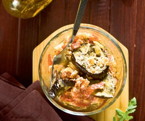 вегетарианские рецепты с баклажанами в духовке