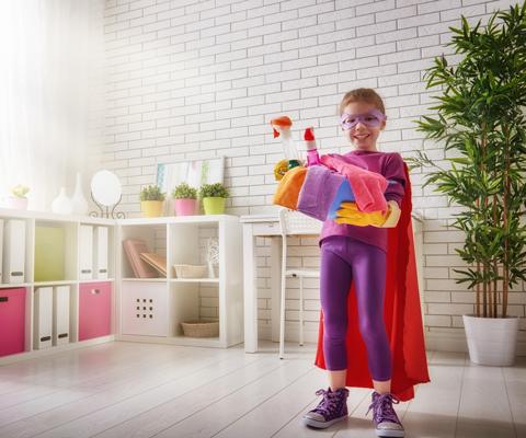 Как заставить ребенка собирать за собой игрушки
