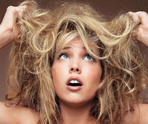Восстановление сухих и поврежденных волос