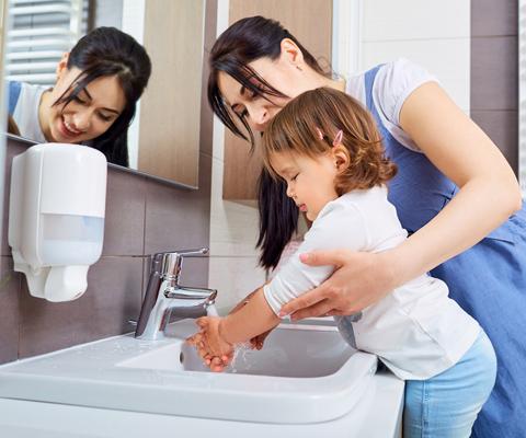 Как правильно мыть и сушить руки