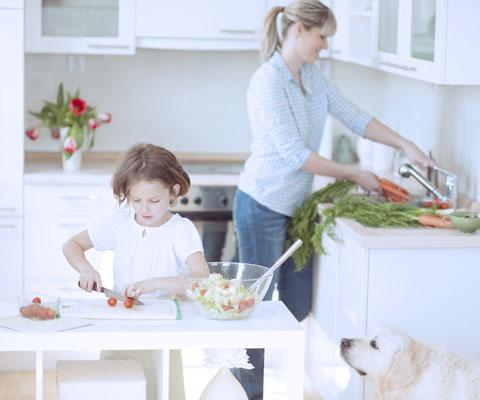 Как оборудовать кухню, чтобы начать питаться правильно? Как готовить пищу правильно