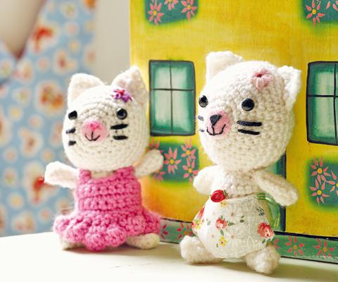 вязание игрушек мышка