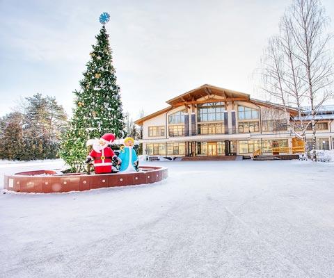 Отели Подмосковья: зимнее приключение для всей семьи. Новый год-2019 в Подмосковье: отели с программой. Где встретить Новый год-2019