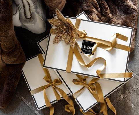 Что подарить на Новый Год-2019? Магазин Togas: постельное белье, скатерти, пледы в подарок