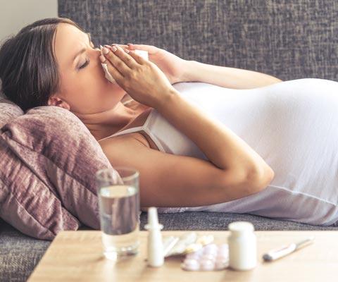 Какое лекарство можно беременным от насморка