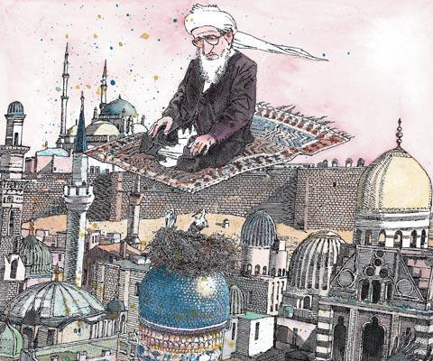 Почему мусульмане молятся на ковриках