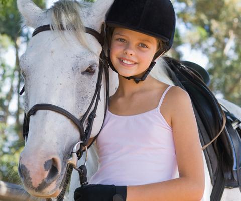С чего начинать обучение езды на лошади