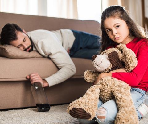 Что делать семье если папа пьет