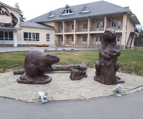 Путешествие по Воронежской области: Дивногорье, бобровый питомник, мамонты и готический замок