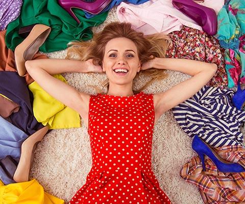 Как разобрать гардероб и избавиться от лишнего