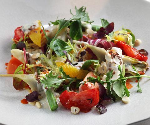 Креветки фасоль салаты рецепты