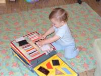 Книжки для детей до года своими руками
