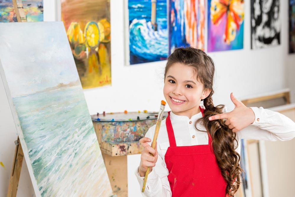 Как знакомить малышей с историей мирового искусства