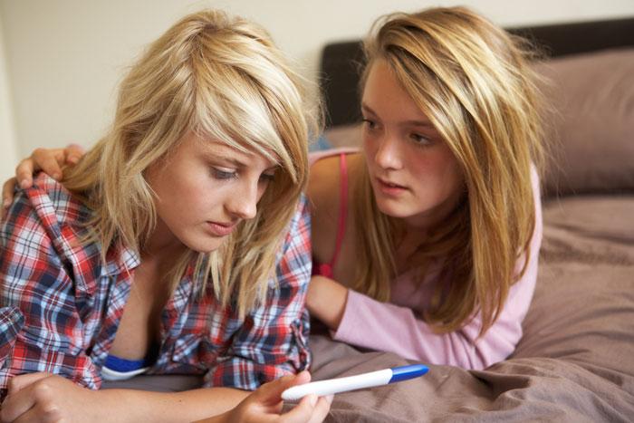 Беременность у девочки подростка