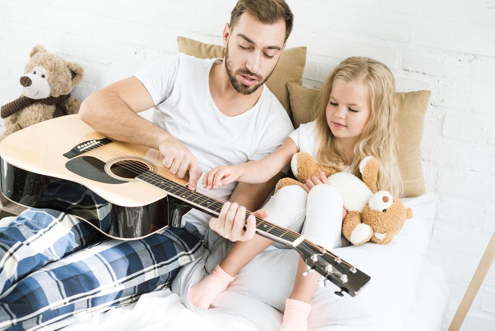 Прививаем ребенку любовь к музыке