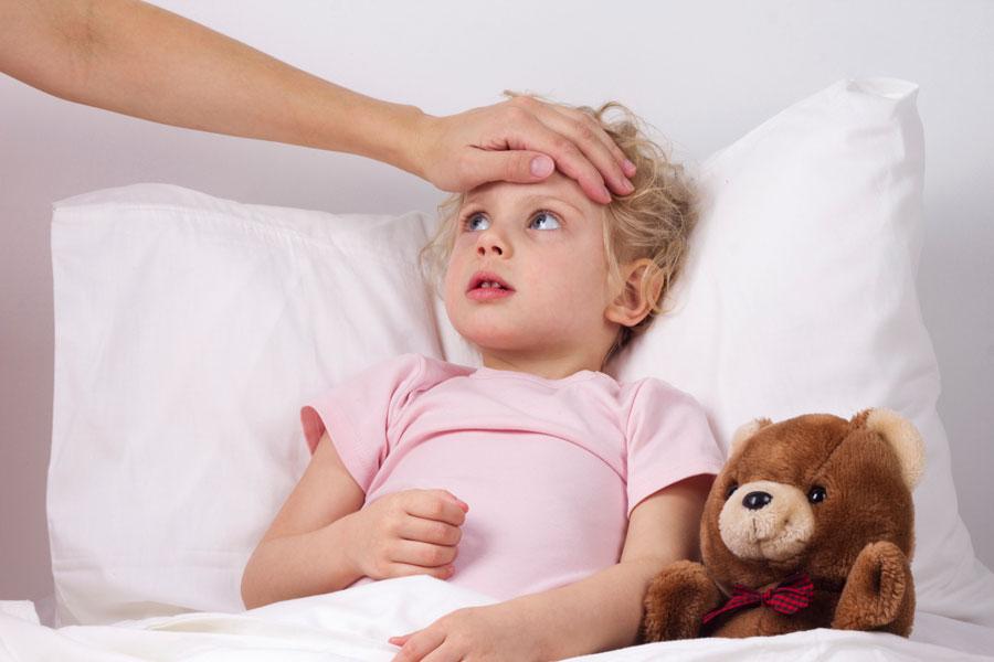 Ребенку назначен постельный режим