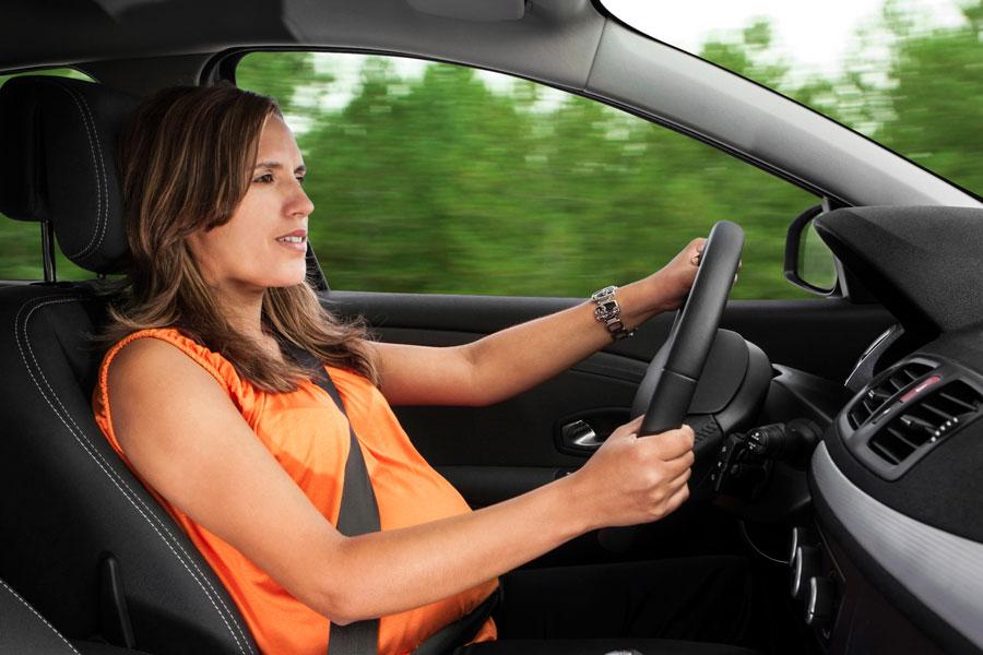 Вождение машины во время беременности