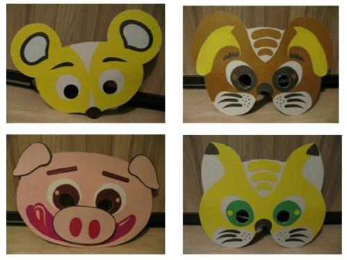 Изготовление маски своими руками с детьми 72